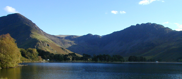 Fleetwith Pike & Haystacks at the head of Buttermere (Heather McGee)